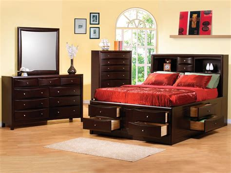 bed with underbed storage