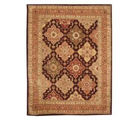 Royal Palace Handmade Rug - royal palace scalloped diamo 8 x 10 handmade wool rug