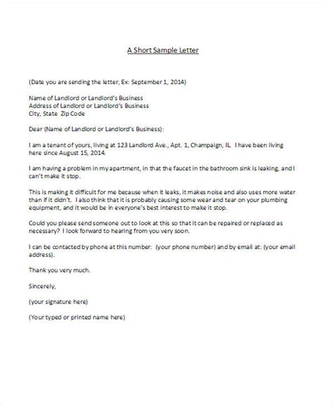 complaint letter to landlord template 34 complaint letter templates free premium templates