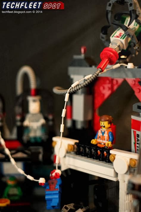 techfleet spot lego  lord business  mini