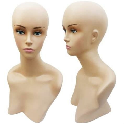 female display heads mannequin head forms display mannequin head display head female head