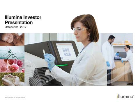 illumina inc illumina inc 2017 q3 results earnings call slides