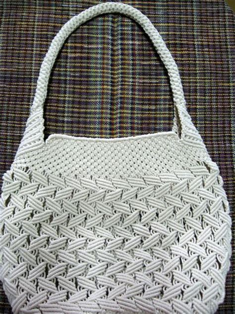 Macrame Bags Tutorials - macrame purse