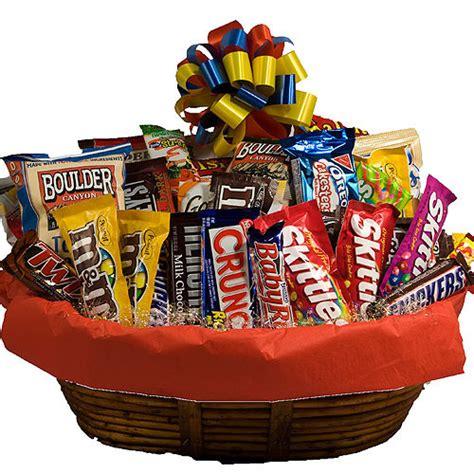 Food Gift Baskets - s day junk food basket