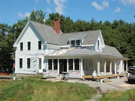 white simple country house plans style 2