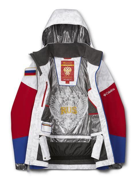 russian canadian ski team uniforms manufactured  columbia sportswear unveiled
