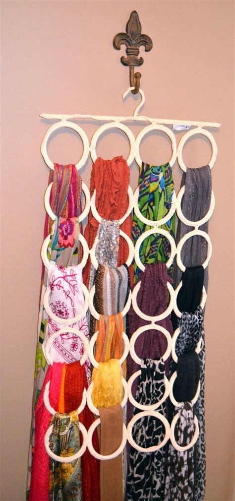 Ima Scarf scarf hanger the hanging loop thing i found at ikea and i use it for all my scarves it