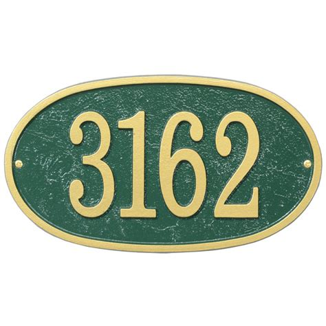 house number plaques house number plaque oval fast and easy in house number plaques