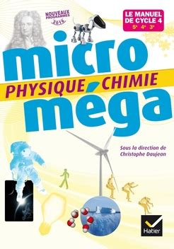 physique chimie cycle 4 microm 233 ga physique chimie cycle 4 201 d 2017 manuel num 233 rique enrichi enseignant editions hatier