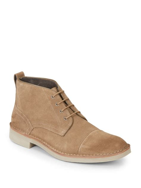 varvatos suede chukka boots in for lyst
