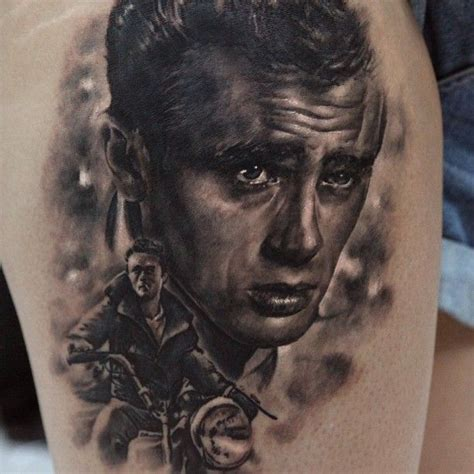 james dean tattoo two dean