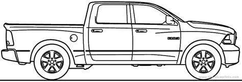 car blueprints dodge ram 1500 blueprints vector