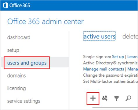 Office 365 Create Account Creating A Microsoft Office 365 Delegate Account