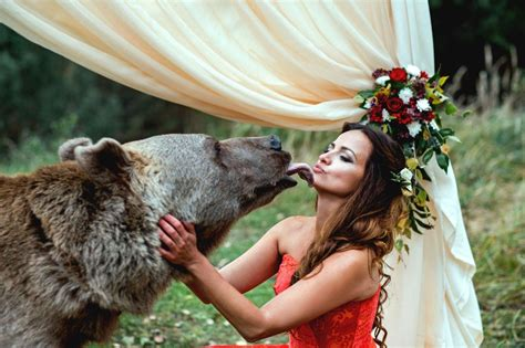 wedding bears russian and groom invite a to their wedding