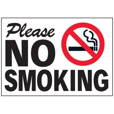 no smoking sign called no smoking sign emedco