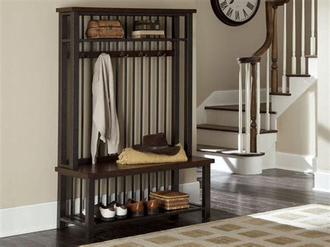 entryway bench with coat rack foyer bench with coat rack tradingbasis
