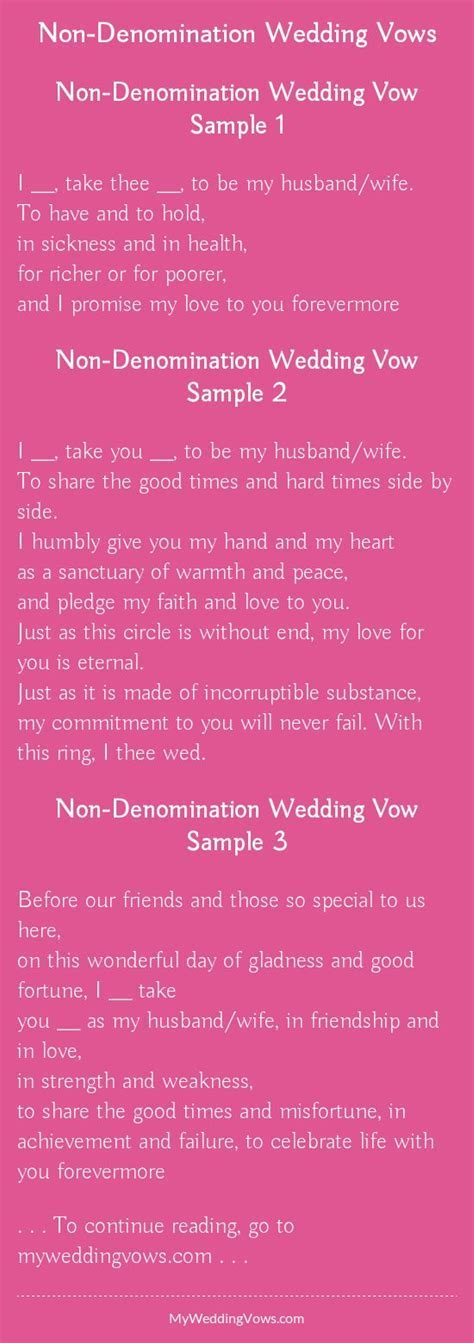 25  best ideas about Simple wedding vows on Pinterest   I