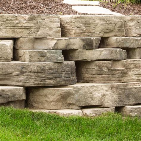 rosetta stone block wall block romanstone hardscapes