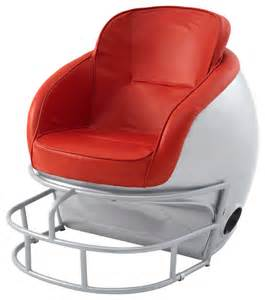 ohio state chairs ohio buckeyes helmet leather chair contemporary