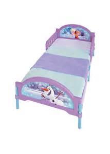 Disney Frozen Canopy Toddler Bed Uk Disneys Frozen Toddler Junior Bed Blue And Lilac
