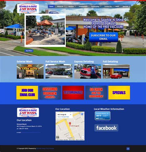 Sparkle Car Wash Port by Website Design Ormond Best Website Designers Ormond
