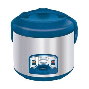 Daftar Rice Cooker Sanken jual sanken sj2000 rice cooker blue 1 8 l