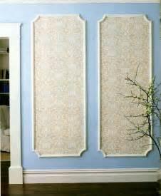 decorative wall board diy framed wall panels using beige wallpaper