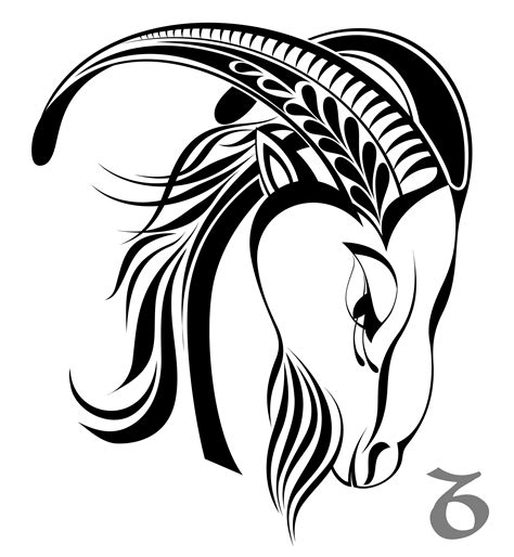 capricorn tribal tattoo designs capricorn images designs