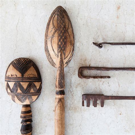 Putting It Together Moroccan by Carved Moroccan Tuareg Spoons Shop