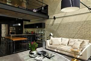 Industrial Style Loft by Industrial Bachelor Pad Loft In Brazil Hiconsumption