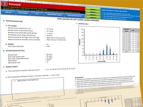format daftar hadir try out aplikasi analisis try out ujian sekolah sd mi plus