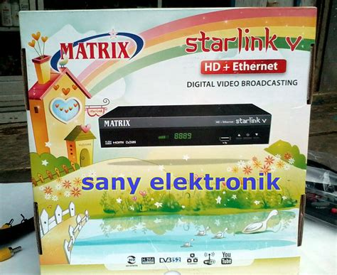 Harga Matrix Starlink V Hd sany elektronic matrix starlink v hd eternet