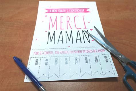 Idee De Cadeau Pour La Fete Des Pere A Faire Soit Meme by Id 233 E Cadeau Pour Maman Diy F 234 Te Des M 232 Res 224 Imprimer