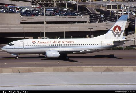 n308aw boeing 737 3g7 america west airlines n94504 jetphotos