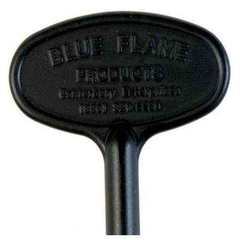 Home Depot Fireplace Key by Blue 3 In Universal Gas Valve Key In Flat Black Bf