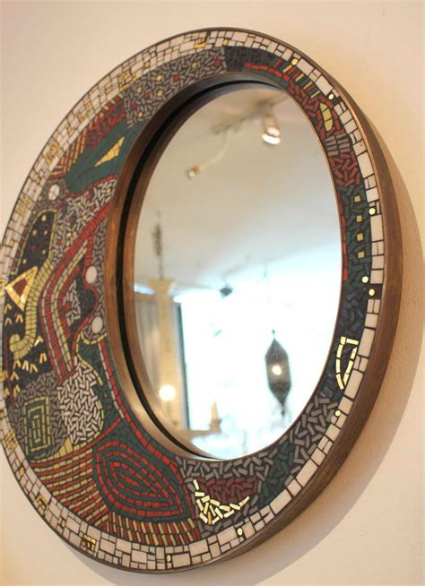 Mirror Mosaic L by German Mosaic Mirror For Sale At 1stdibs
