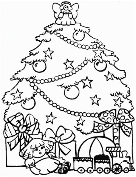 tree coloring page pdf christmas tree coloring sheets pdf