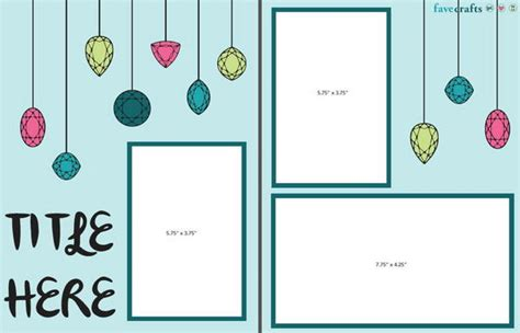 layout with photo scrapbook layout ideas 5 scrapbook templates to inspire