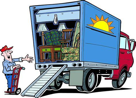 moving clipart camiones de mudanza dibujos animados infantiles