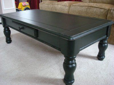 Redoing A Goodwill Coffee Table In Black Quot I Am Loving A Goodwill Coffee Table