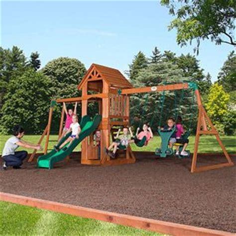 backyard discovery sonora cedar wood swing set just