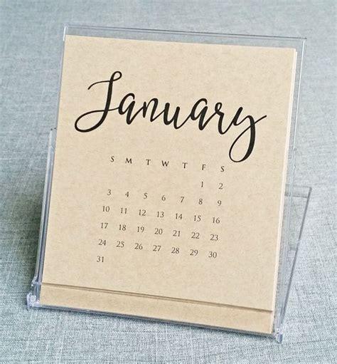 Handmade Calendars Ideas - 50 handmade gift ideas fonts script fonts