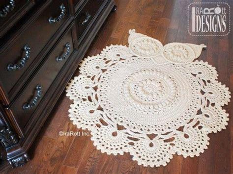 crochet owl rug pattern free best 25 crochet doily rug ideas on doily rug crochet rugs and crochet rug patterns