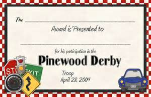 pinewood derby certificate template memories in moments spotlight on me