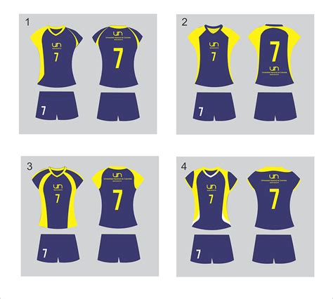 uniforme voleibol especial uniformes voleibol dise 241 o de uniformes para voleibol on behance