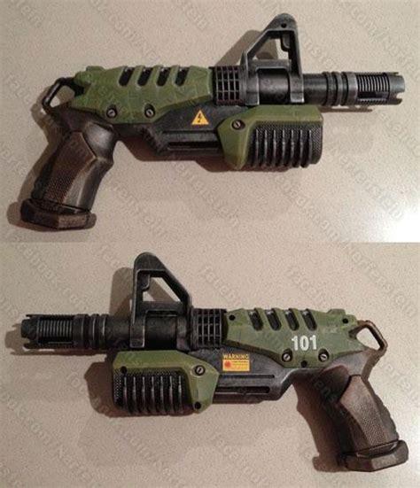 Lego Compatible Heavy Barrey Part Rifle vault 101 fallout blaster pistol mod nerf soaker