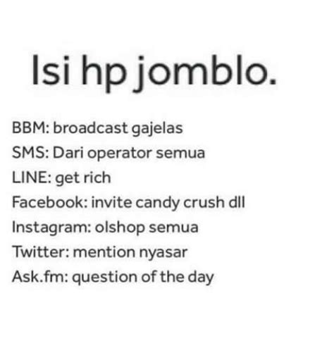Ask Fm Question Of The Day   25 best memes about indonesian language instagram and