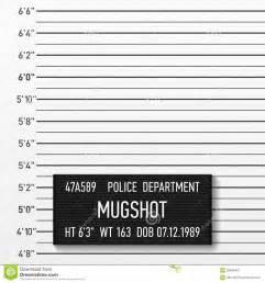 Mugshot Backdrop Police Mugshot Stock Image Image 28946481