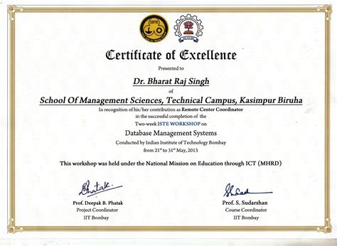 Platform Syatem Mba Certificate by Welcome To Dr Brsingh India