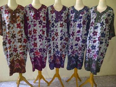Reseller Baju Daster Batik distributor baju daster batik pekalongan